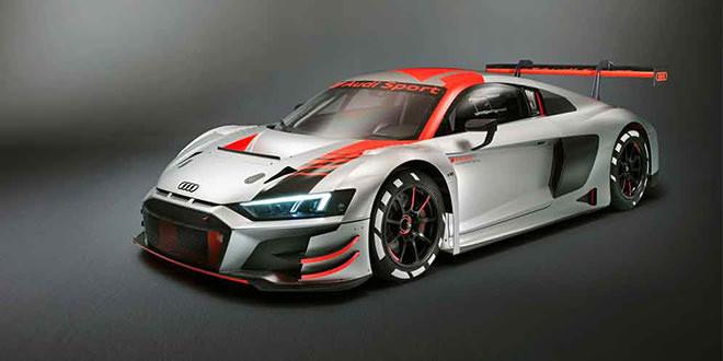 Новый гоночный суперкар Audi R8 LMS GT3 официально