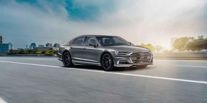 Новая 2018 Audi A8 получила визуальный тюнинг ABT Sportsline