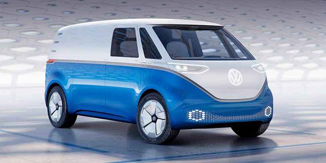 VW Buzz Cargo Concept — электро-вэн с запасом хода 550 км
