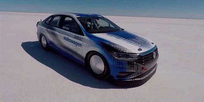Новую Volkswagen Jetta разогнали до 339,572 км/ч