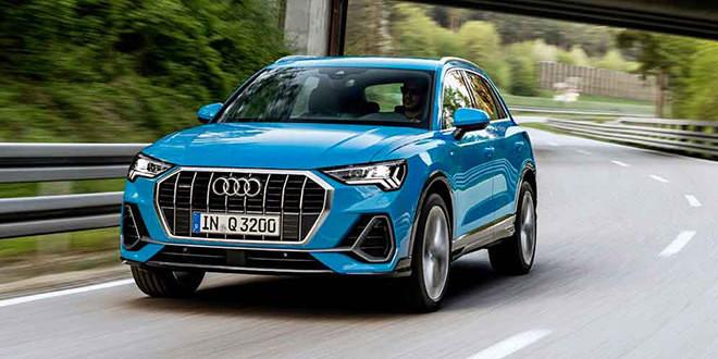 Европейская Audi Q3 получила новые двигатели к 2019 году