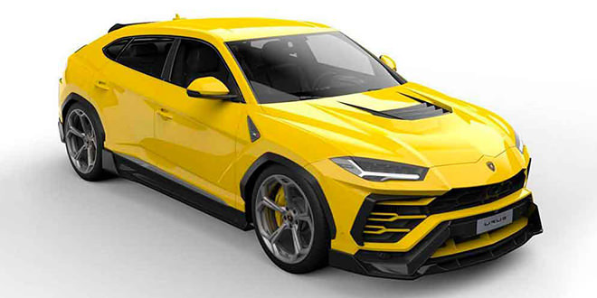 Vorsteiner готовит обвес для Lamborghini Urus. Первые скетчи