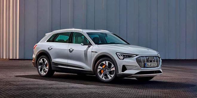 Электро-кроссовер Audi e-tron вышел в начальной версии
