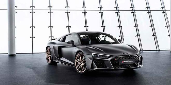Вышла спецверсия Audi R8 в честь юбилея двигателя V10