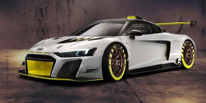 Построен гоночный суперкар Audi R8 для новой серии