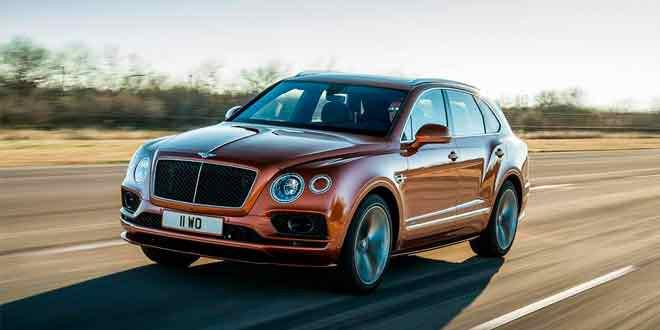 Bentley Bentayga Speed — самый быстрый внедорожник в мире