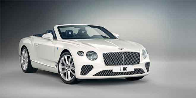 Кабриолет Bentley Continental GT посвятили Баварии