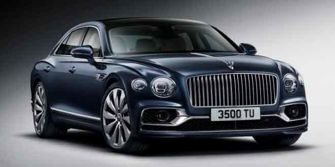 Седан Bentley Flying Spur третьего поколения официально