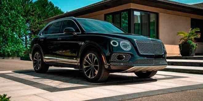 Компания Inkas построила бронированный Bentley Bentayga