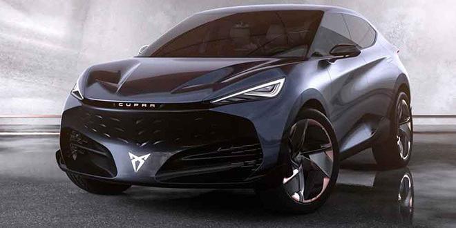 Cupra показала первый электромобиль — кросс-купе Tavascan