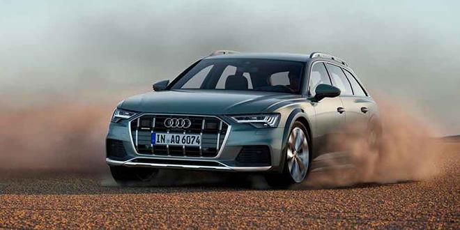 Новый внедорожный универсал Audi A6 allroad сделали гибридом