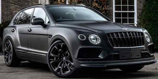 Bentley Bentayga тюнинговали в стиле Дарта Вейдера