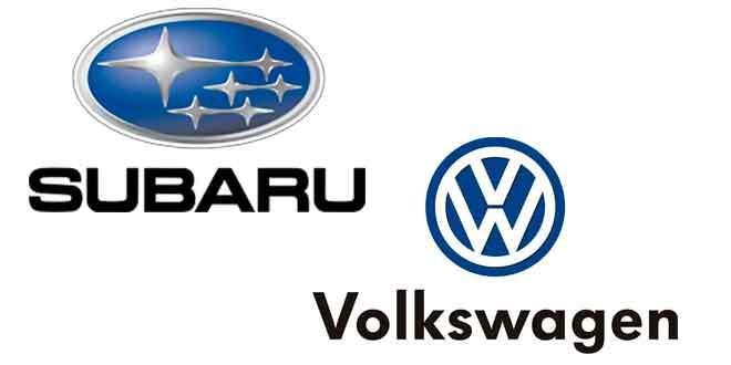Актуальные модели Subaru в противовес Volkswagen