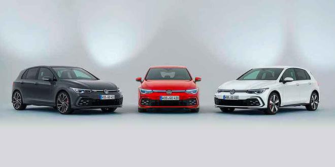 Volkswagen Golf VIII вышел в трёх спортивных версиях