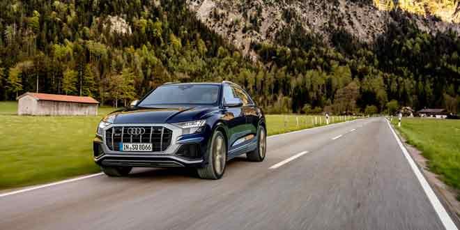 Audi SQ7 и SQ8 получили двигатели V8 TFSI на 500-сил в Европе