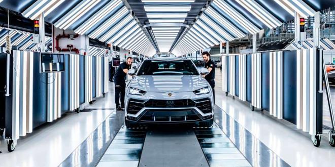 Lamborghini за 2 года собрала 10 000 супер-кроссоверов Urus