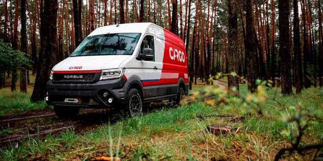 Torsus Terrastorm — микроавтобус для бездорожья из VW Crafter
