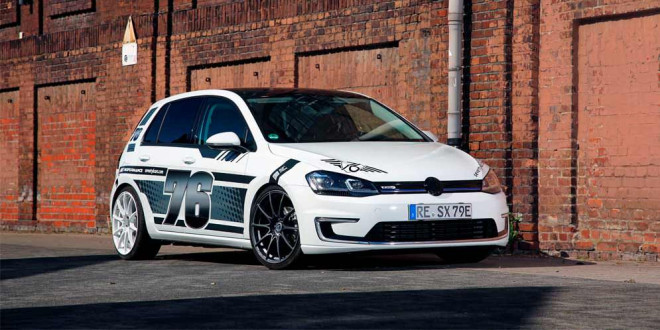 Комплексный тюнинг VW e-Golf от xXx Performance