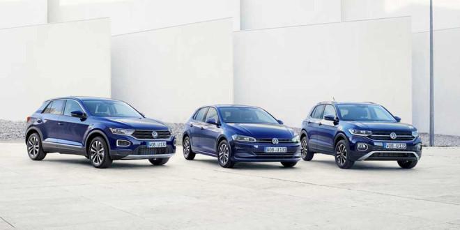 Компакты VW Polo, T-Cross и T-Roc получили спецверсию United