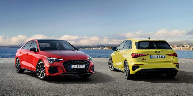 Новый седан и хэтчбек Audi S3 показали официально
