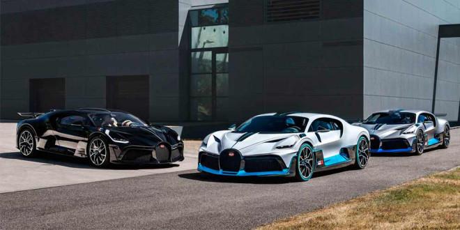 Первая партия Bugatti Divo готова к отправке покупателям