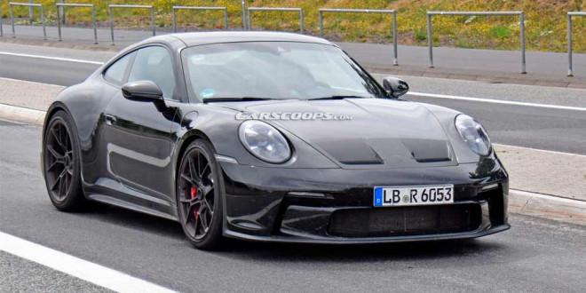 Новый Porsche 911 GT3 Touring замечен на трековых испытаниях