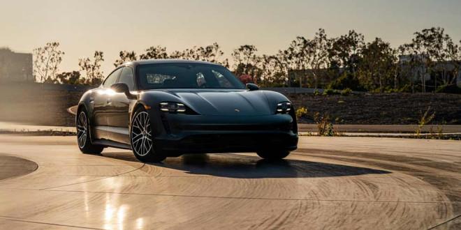 Porsche Taycan получил порцию обновлений на 2021 год