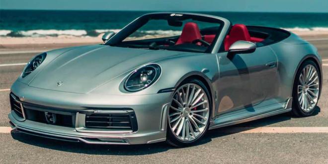 Porsche 992 Cabriolet заехал на апдейт в TechArt