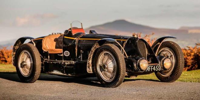 Ретро Bugatti Type 59 Sports могут продать по цене $13,3 млн