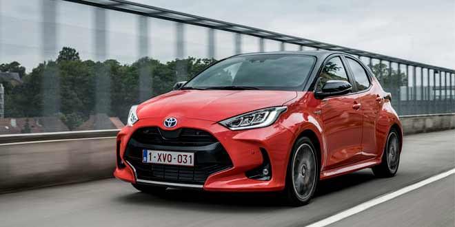 Новая малышка Toyota Yaris 2020 выходит на рынок Европы