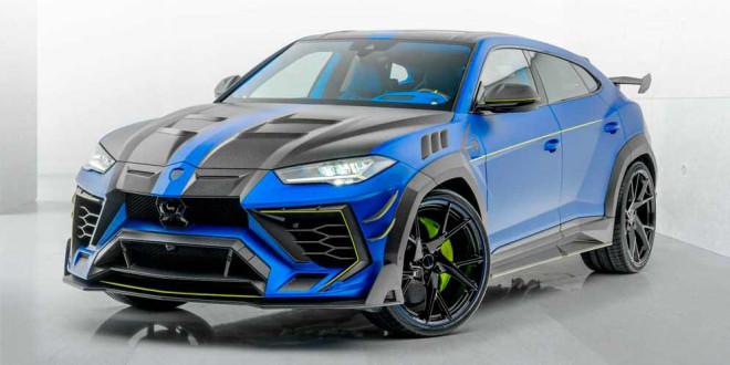 Новый тюнинг Lamborghini Urus показывает мастерство Mansory