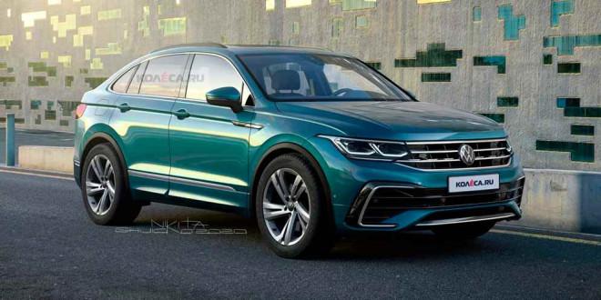 Рендер VW Tiguan X — народный ответ Audi Q3 Sportback