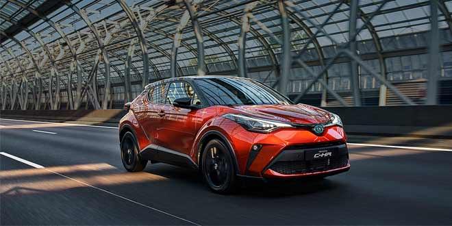 Актуальный модельный ряд Toyota в Украине в 2020 году