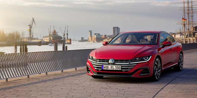 Новый Volkswagen Arteon приземлился в Англии, цены, комплектации