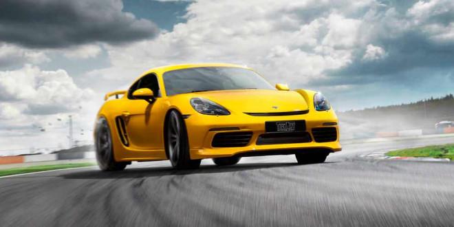 TechArt сделал лимитированный пакет GT для Porsche 718 Cayman
