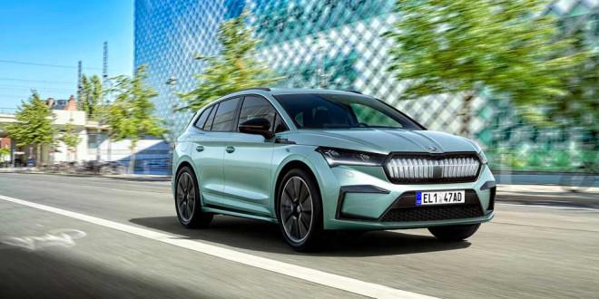 Серийный электромобиль Škoda Enyaq iV показан официально