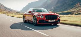 Bentley Flying Spur вышел с новым твин-турбо V8 на 542-силы
