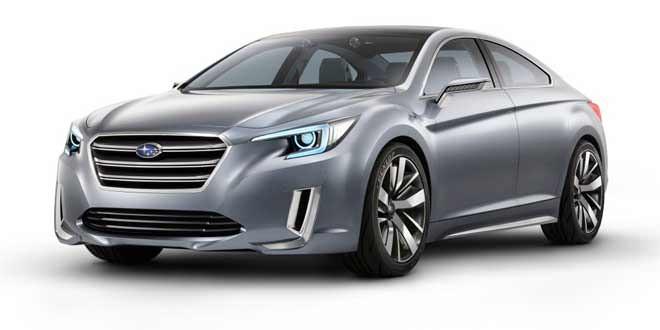 На моторшоу в Лос-Анджелесе Subaru выкатит концепт следующего Legacy