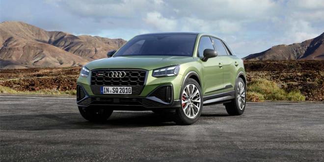 Рестайлинг Audi SQ2 2021 года: новый стиль и технологии