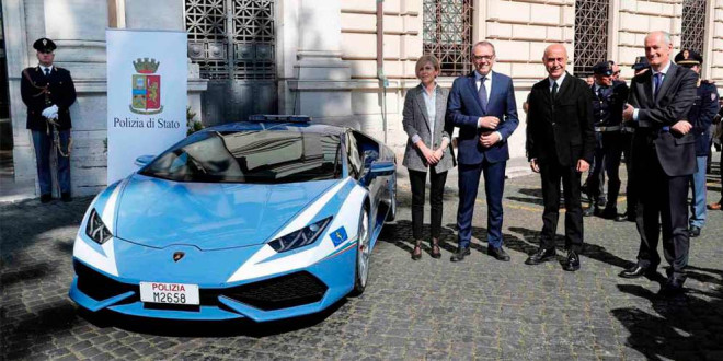 Полицейский Lamborghini Huracan доставил органы для трансплантации