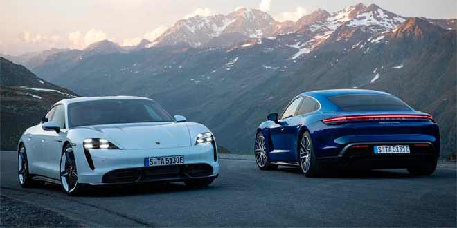 Компания Porsche продала 1 000 электрокаров Taycan в Норвегии