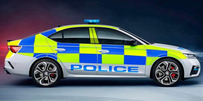 Новая Skoda Octavia IV RS встала на службу в полицию