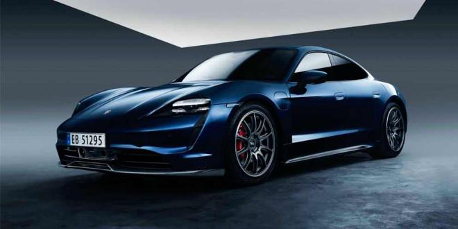 Porsche Taycan сделали карбоновый обвес в Zyrus Engineering
