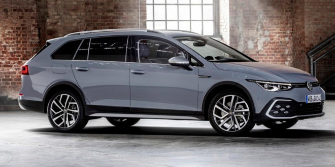 Стартуют продажи Volkswagen Golf VIII Alltrack в Европе. Цены
