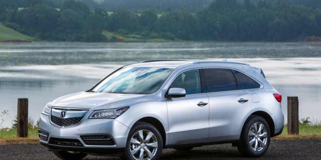 Компания Acura открыла официальное представительство в Украине и представила парочку новеньких кроссоверов