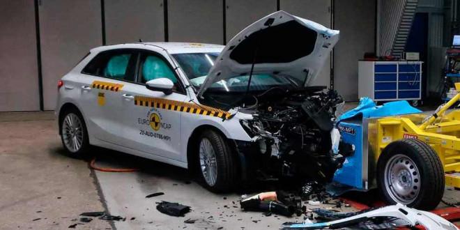 Новая Audi A3 прошла краш-тесты Euro NCAP на 5-звёзд