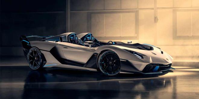 Новый Lamborghini SC20: спидстер в единственном экземпляре