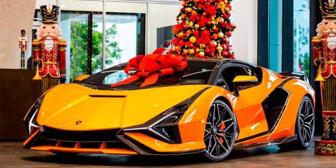 Первый Lamborghini Sian FKP 37 доставили покупателю в США