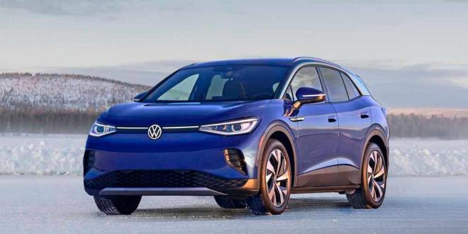 Volkswagen: зима не проблема для электромобилей как ID.4