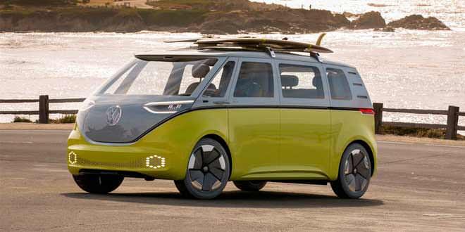 Электробус Volkswagen ID.BUZZ задерживается до 2023 года